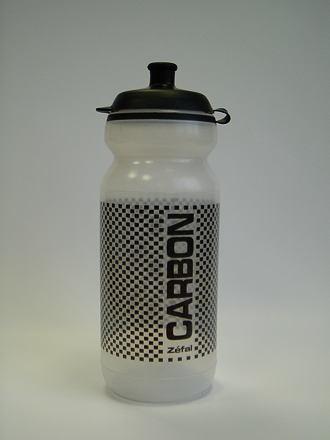 Zefal lahev 161 0.6 carbon průsvitná